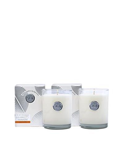 The Soi Co. Set of 2 Luxe Box Moisturizing 13.5-Oz. Candles, Chai Latte