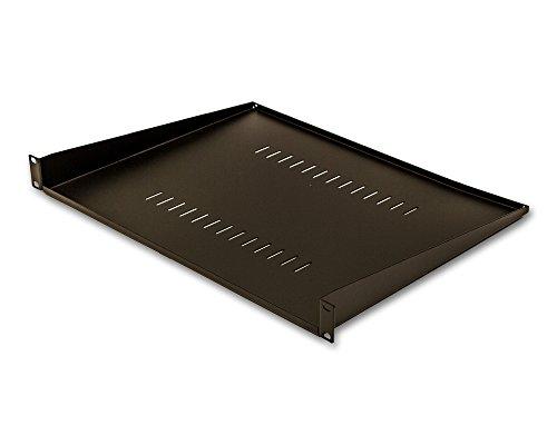 "Navepoint Cantilever Server Shelf Vented Shelves Rack Mount 19"" 1U Black 10.5"" 270Mm Deep"