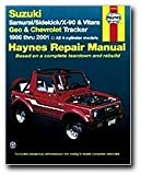 Haynes Suzuki Samurai Sidekick X-90 and Vitara Geo/Chevrolet Tracker (86 - 01) Manual