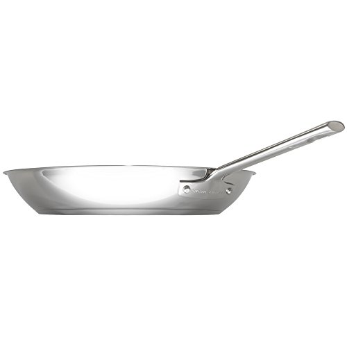 "Emeril Lagasse 62952 Stainless Steel Fry Pan, 10"", Silver"