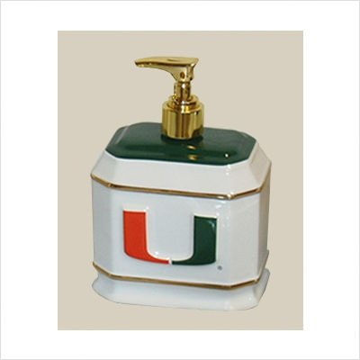 Miami Hurricanes Liquid Soap Dispenser