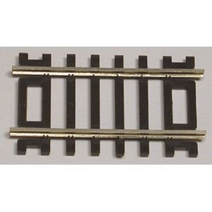 "Code 83 Nickel Silver 2"" Straight Section (6/Bx) HO Scale Atlas Trains - 1"