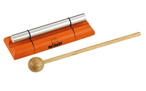 Nino Percussion Nino579S-Or Small Handheld Energy Chime, Orange