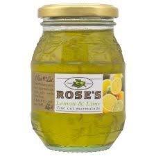 Rose's Lemon Lime Marmalade 454gr (16ozs) Jar