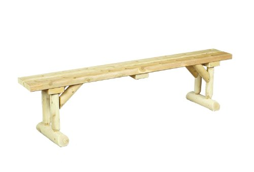 Dining Table Bench Solid Cedar Construction Ensures Years Of
