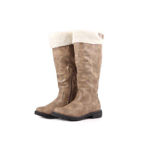 Reneeze ABBY-04 Women Winter Boots- Light Khaki