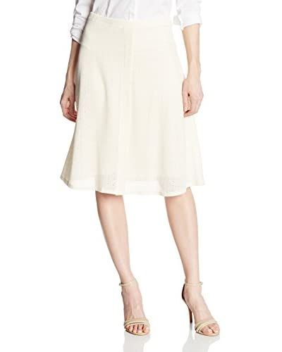 Three Dots Women's Allover Lace A-Line Skirt