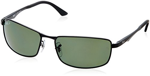 Ray-Ban-0RB3498-Rectangular-Sunglasses