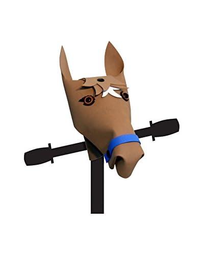 Kiddimoto Decorazione Manubrio Cavallo [Marrone]