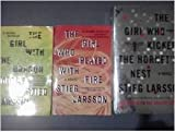 img - for Stieg Larsson's 3 Book Set (The Girl with the Dragon Tattoo/the Girl Who Played with Fire, the Girl Who Kicked the Hornet's Nest) book / textbook / text book