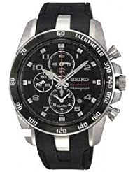Seiko Sportura Alarm Chronograph Men's watch #SNAE87