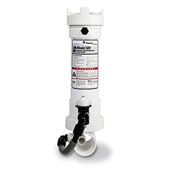 Pentair R171096 Rainbow320 Automatic In-Line Chlorine/Bromine Feeder For Pool And Spa