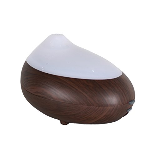 Ultrasonic Aromatherapy Humidifier Machine & Multifunction Creative Fashion Fragrance Diffuser, Household Mute Bedroom And Living Room Aromatherapy Oil Oxygen nebulizer - dark wood, iParaAiluRy