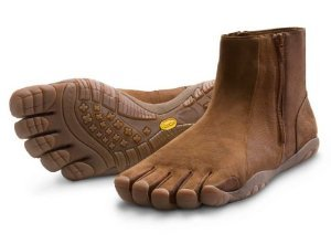 Vibram FiveFingers Men's Bormio Tan / Brown Size 42 R