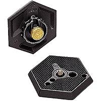 Manfrotto 030- 14 Replacement Hexagonal Quick Release Plate with 1/4- 20 Thread