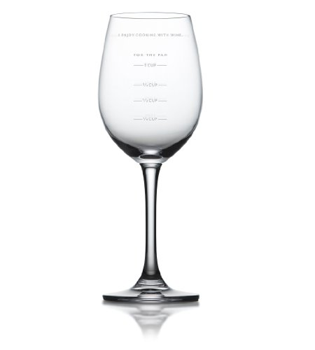 Fred and Friends SAUCED Measuring Wine Glass