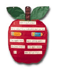 Small Apple Shape Pocket Chart by Carson Dellosa - Buy Small Apple Shape Pocket Chart by Carson Dellosa - Purchase Small Apple Shape Pocket Chart by Carson Dellosa (Carson Dellosa, Toys & Games,Categories,Learning & Education)