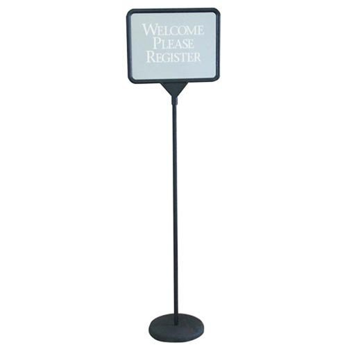 Changeable Poster Sign in Black (This Register Closed compare prices)