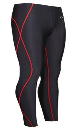 emFraa Men's Skin Tights Compression Leggings Base layer Running Pants