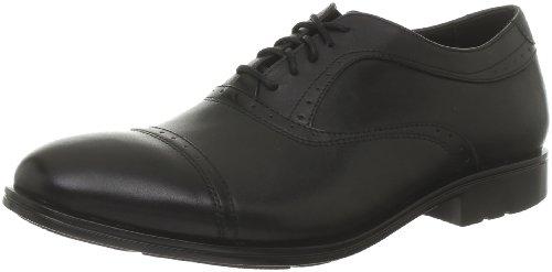 Rockport Men's Fairwood 2 Cap Toe Black Shoe K73866 10.5 UK