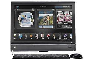 HP TouchSmart IQ500t - Intel Core 2 Duo T6600
