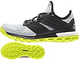 adidas Outdoor Response Trail Boost Trail Running Shoe - Women\'s Clear Grey/Black/Solar Yellow 10.5
