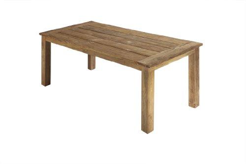 Ambientehome-Teakholz-Tisch-Esstisch-retro-recycelt-Grenada-braun-ca-180-x-90-cm
