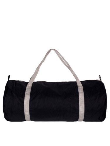 american-apparel-nylon-pack-cloth-gym-bag-black-silver-one-size