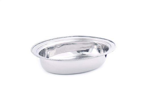 Old Dutch Fp682 Oval Stainless Steel Food Pan For No.682, 6-Quart