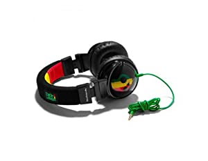 Skullcandy S6HEDZ-058 Hesh Over-Ear Headphone (Rasta) (Discontinued by Manufacturer)