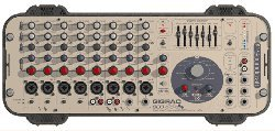 GigRac 600 8 Channel Stereo Powered Mixer