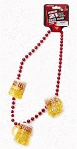 Forum Novelties 65476 Legally 21 Beer Mug Bead Shotglass Necklace