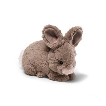 "Lil Wispers Natural Bunny 7"" Gray"