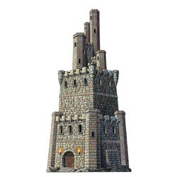 Jointed Castle Tower Party Accessory (1 count) (1/Pkg)