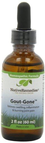 Native Remedies Gout-Gone, 60 ml Bottle