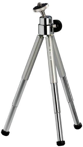 Cullmann-Alpha-15-Mini-treppiedi-con-testa-a-sfera-colore-Argento
