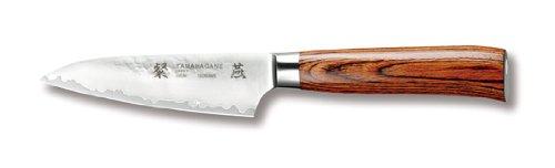 Tamahagane San Tsubame Wood SNH-1109 - 3 1/2 inch, 90mm Paring Knife