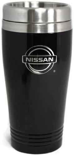 Nissan Travel Mug Travel Coffee Mug Cup Stainless Steel Tea Mug Thermo - Black (Nissan Mug compare prices)