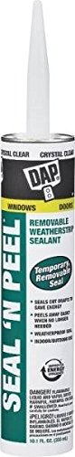 New Case (12) Dap 18354 Clear Seal N Peel Weatherstrip Sealant Caulk 7137425 (Weatherstrip Protectant compare prices)