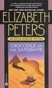 Book Cover: Crocodile on the Sandbank by Elizabeth Peters