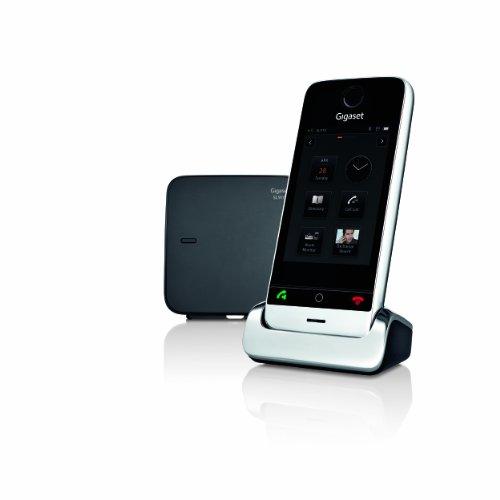 Gigaset  SL910 Téléphone sans fil tactile DECT Noir