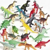 Vinyl Mini Dinosaurs (72 count)