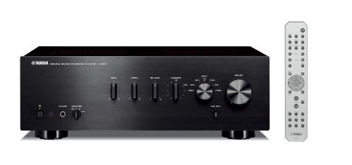 Yamaha AS300BL Integrated Amplifier, iPhone And iPod Compatable with 60w X 2 High Power Output