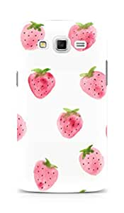 Amez designer printed 3d premium high quality back case cover for Samsung Galaxy Grand Max (Strawberry Pattern)