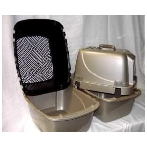 Sifting Enclosed Cat Litter Pan, Large
