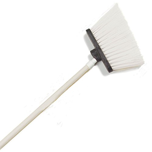 Carlisle 4108302 Sparta Spectrum Unflagged Duo-Sweep Polyethylene Bristle Angle Broom with 48