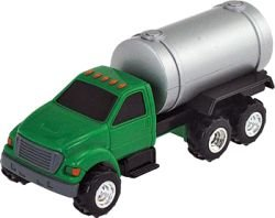 TOMY International Ertl Truck with Bulk Tank, 4.3""