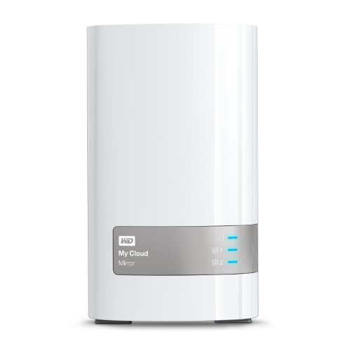 WD 8TB  My Cloud Mirror Gen 2 Personal Network Attached Storage - NAS - WDBWVZ0080JWT-NESN