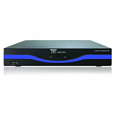 Night Owl Security L-DVR16-5GB 16-Channel DVR with 500GB HDD HDMI and Free Night Owl Lite App (Black)
