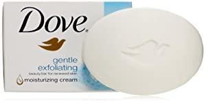 Dove Beauty Bar, Gentle Exfoliating, 8 Count (Pack of 3)